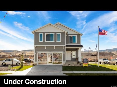 Herriman Single Family Home Under Contract: 14872 S Messi St #457
