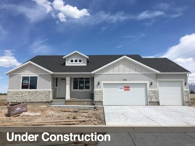 Layton Single Family Home For Sale: 1624 W 425 S #212