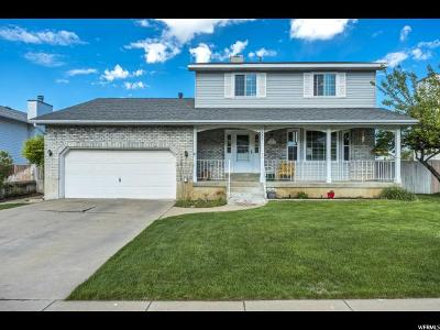 Layton Single Family Home Under Contract: 2685 N 1700 E