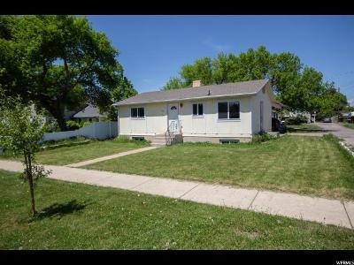 Logan UT Single Family Home For Sale: $214,900