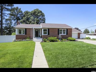 Bountiful Single Family Home Under Contract: 655 N 1000 E