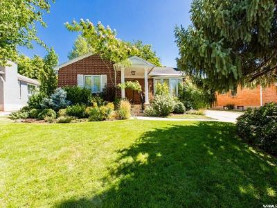 Salt Lake City Single Family Home For Sale: 1825 S 2300 E