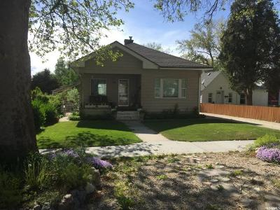 Brigham City Single Family Home Under Contract: 548 S 300 W