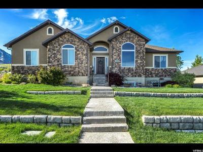 Santaquin Single Family Home Under Contract: 242 E 880 S