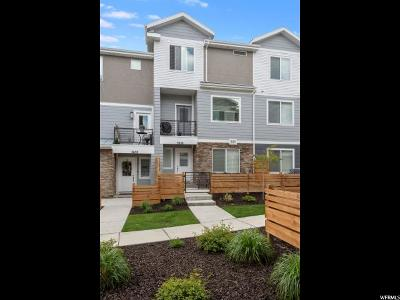 South Jordan Townhouse For Sale: 3656 W Evening Sky Ln S