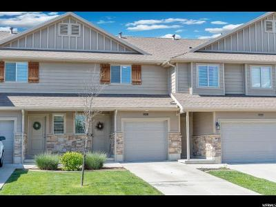 Layton Townhouse Under Contract: 1869 E Whitetail Way