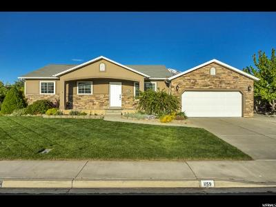 Spanish Fork Single Family Home Under Contract: 1159 S 1560 E