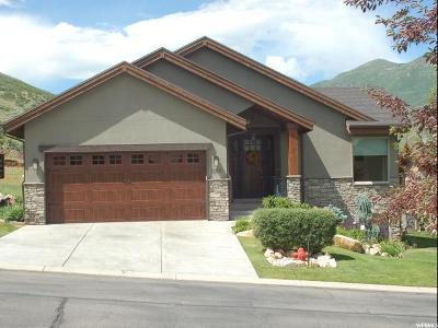 Midway Single Family Home For Sale: 1160 Sunburst Ln