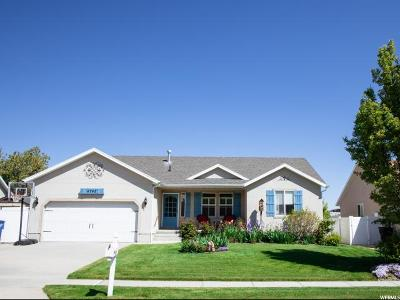 Herriman Single Family Home Under Contract: 4742 W Claim Staker Way