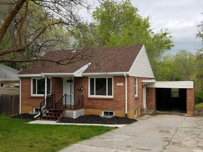 Ogden Single Family Home Under Contract: 522 E 34th St