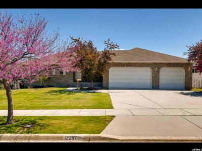 Riverton Single Family Home Under Contract: 12297 S Margaret Rose Dr