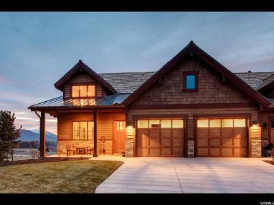 Heber City Single Family Home For Sale: 1626 E Abajo Peak Cir (Lot TV-21) #TV-21