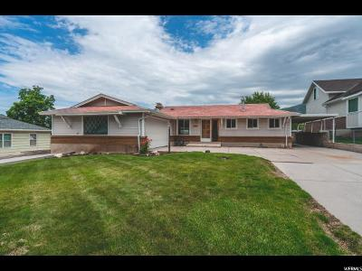 Bountiful Single Family Home For Sale: 457 E 1200 N