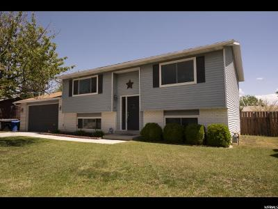 West Jordan Single Family Home Under Contract: 6273 S Clernates Dr W