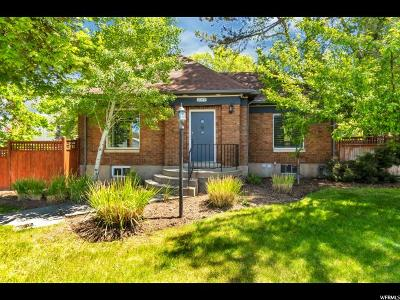 Sugar House Single Family Home For Sale: 2349 S 700 E