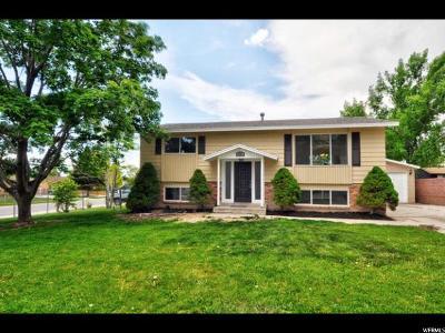 West Jordan Single Family Home For Sale: 3767 Moreland