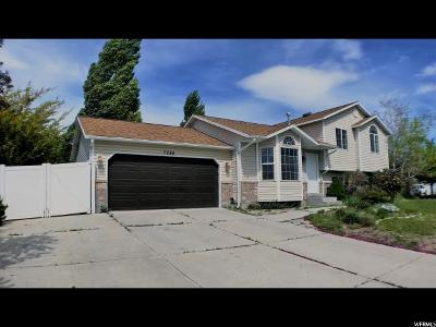 West Jordan Single Family Home For Sale: 7284 S Jasper Hill Dr W