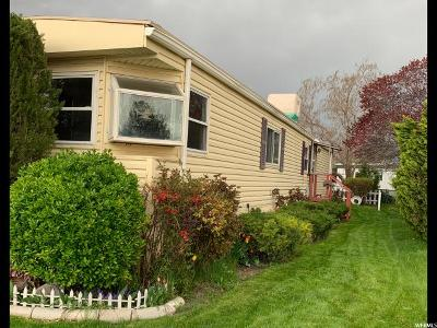 Salt Lake City Single Family Home For Sale: 1594 W 400 So S #48