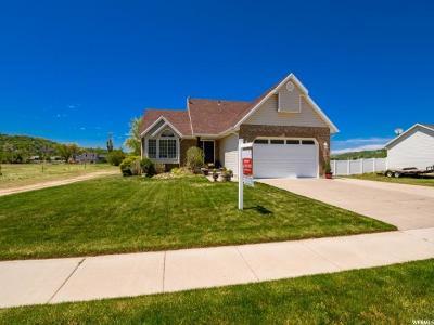 South Weber Single Family Home For Sale: 7359 S 1950 E