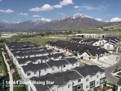 Bluffdale Townhouse For Sale: 14764 S Rising Star Way W #69