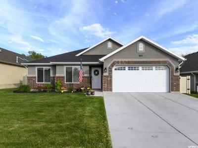 Layton Single Family Home For Sale: 942 E Frost Way