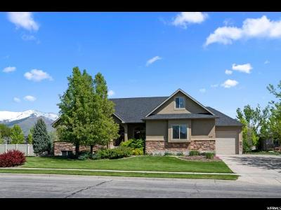Kaysville Single Family Home Under Contract: 1413 Ramola St