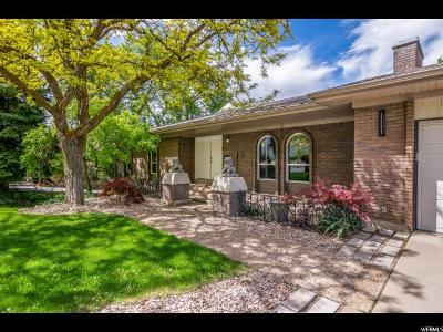 Cottonwood Heights Single Family Home Backup: 3647 E Macintosh Ln S