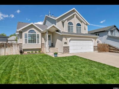 West Jordan Single Family Home Under Contract: 6968 S Sparrowtail Rd W