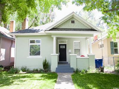 Salt Lake City Single Family Home Under Contract: 923 S 400 E