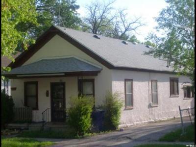 Ogden Single Family Home For Sale: 2155 S Adams