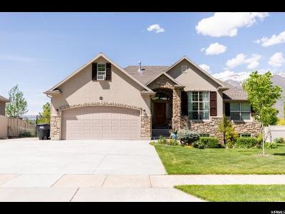 South Weber Single Family Home For Sale: 2538 E 8300 S