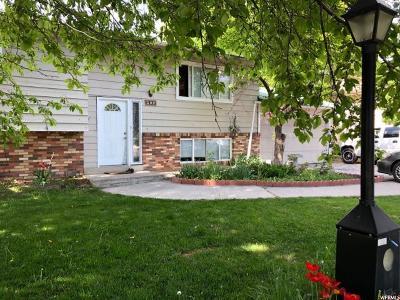 Logan UT Single Family Home For Sale: $214,500