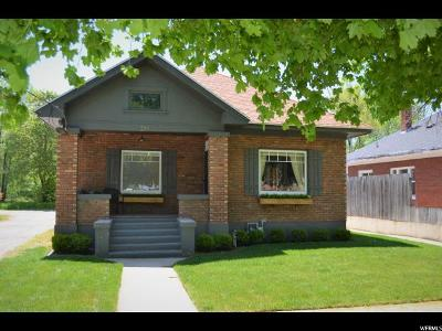 Logan Single Family Home Under Contract: 554 W Center St S