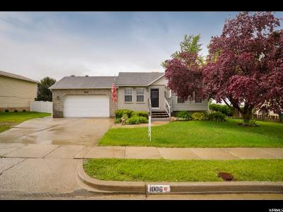 Layton Single Family Home For Sale: 1006 Springtree Dr