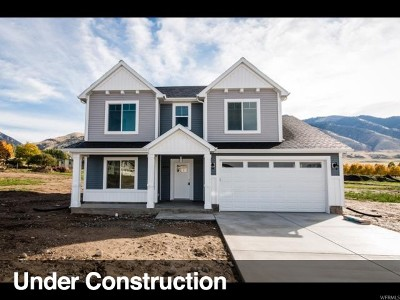 Nibley Single Family Home Under Contract: 2645 S 1060 W