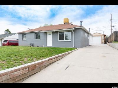 Clearfield Single Family Home Under Contract: 57 E Airlane Dr S