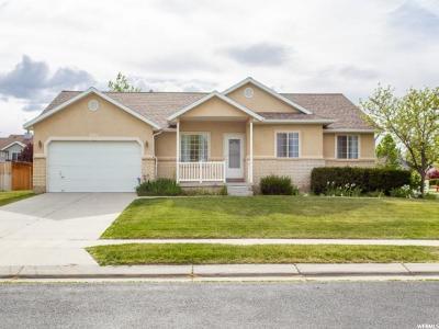 West Jordan Single Family Home For Sale: 8756 S 5130 W