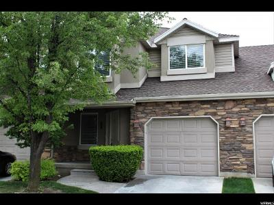 Layton Townhouse For Sale: 790 S Creekview Dr E