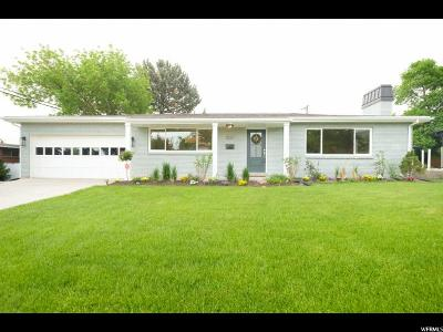 Holladay Single Family Home For Sale: 2521 E Evening Star Dr S