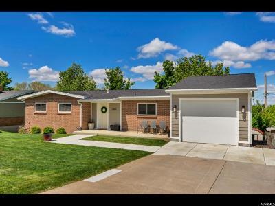 Bountiful Single Family Home Under Contract: 2862 S Davis Blvd