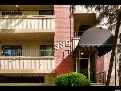 Salt Lake City Condo For Sale: 339 E 600 S #1110