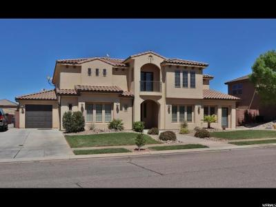 St. George Single Family Home For Sale: 2661 E 3580 S