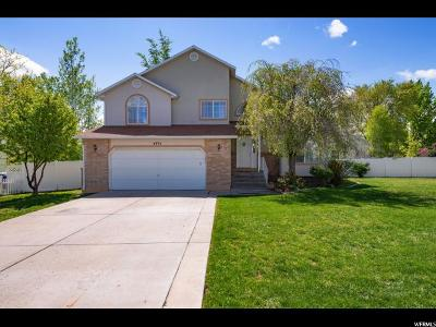 West Jordan Single Family Home For Sale: 4751 W Summit Vly S