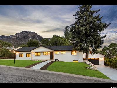 Holladay Single Family Home For Sale: 3308 E Coronet Dr S