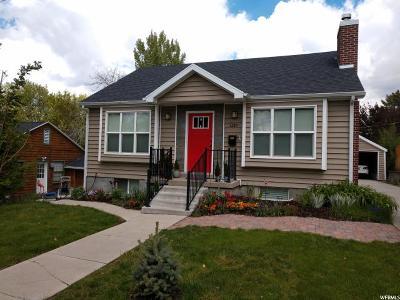 Salt Lake City Single Family Home For Sale: 1219 E Bryan Ave