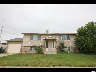 Salt Lake City Single Family Home For Sale: 5221 S Parish Dr W