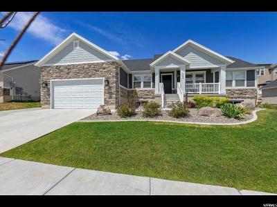 Lehi Single Family Home Backup: 554 W Mountain Way Rd
