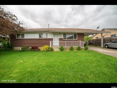 Tooele County Single Family Home For Sale: 518 W 400 S