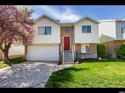 West Jordan Single Family Home For Sale: 1665 W Crystal Ridge Dr S