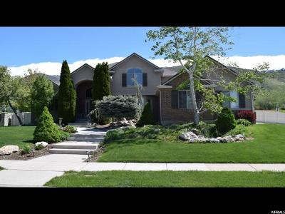 Fruit Heights Single Family Home For Sale: 286 N Homestead Ln E